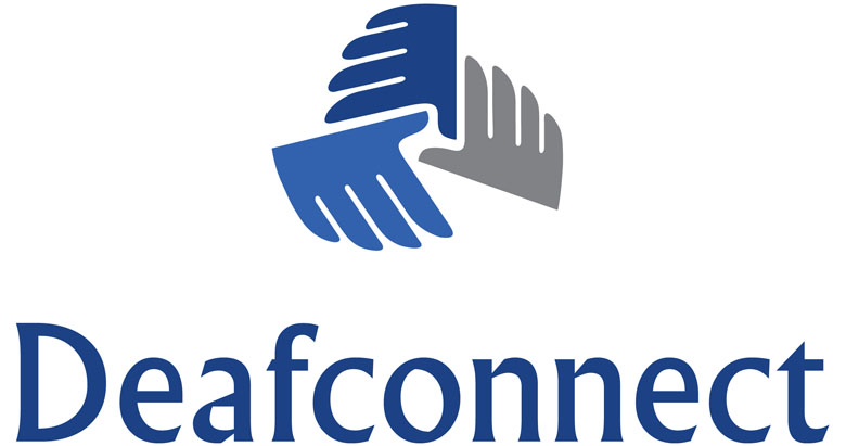 Deafconnect Logo A-W